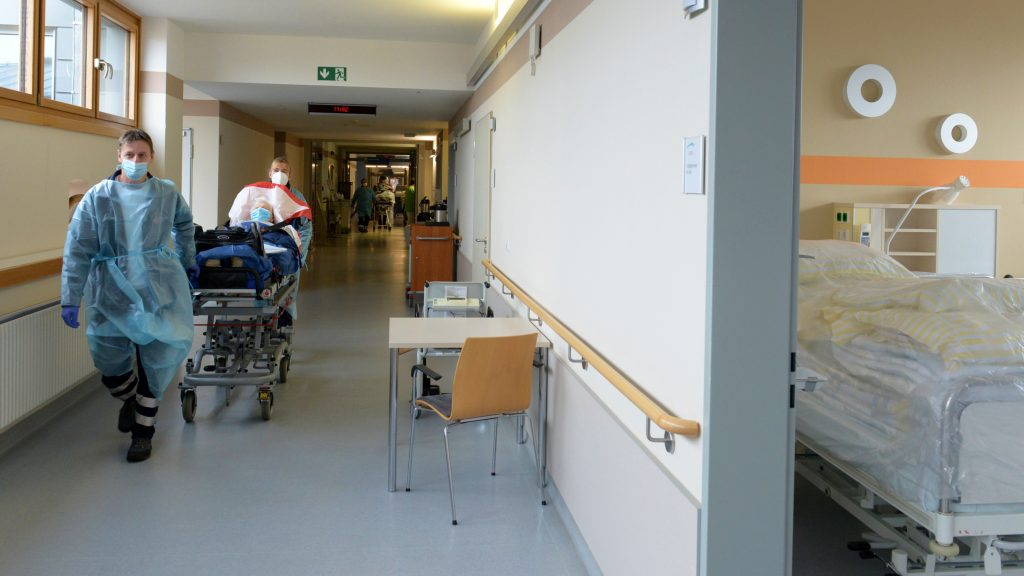 Patiententransporte im Klinikum Niederlausitz