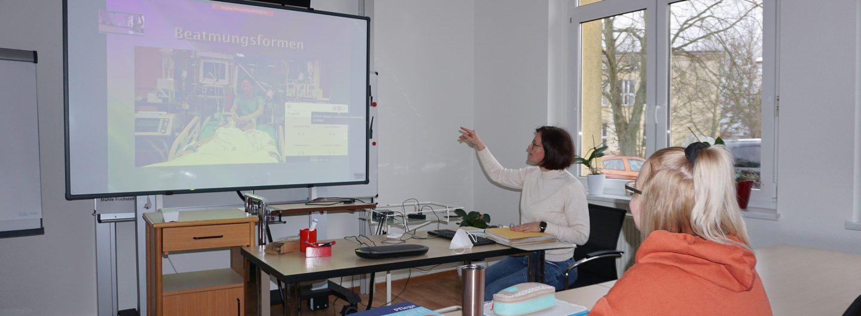 Online Unterricht Pflegeschule Senftenberg