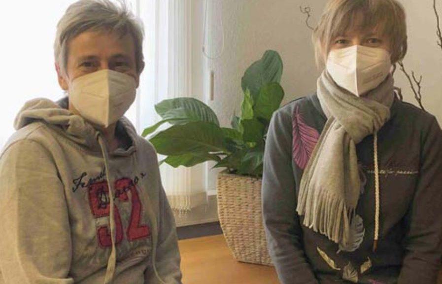 Solveig Gruber und Franziska Lichan.