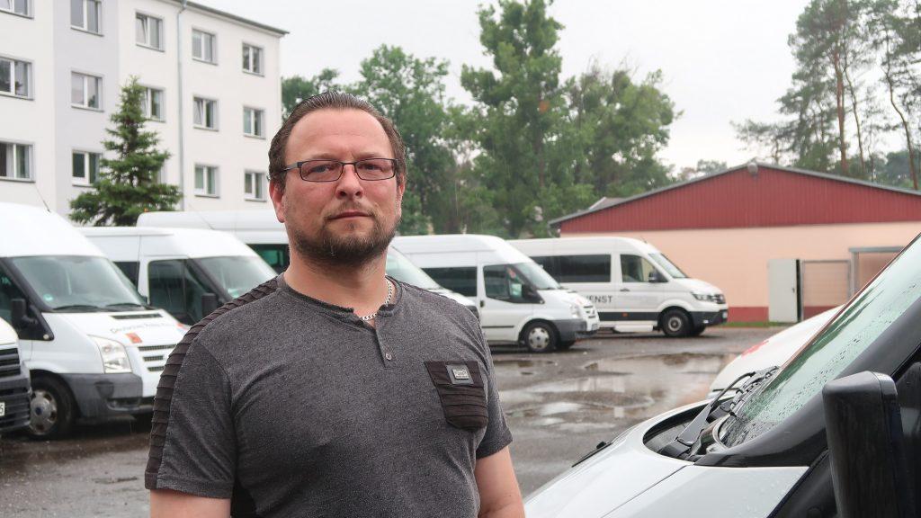 Heiko Krona Impfzentrum Elsterwerda