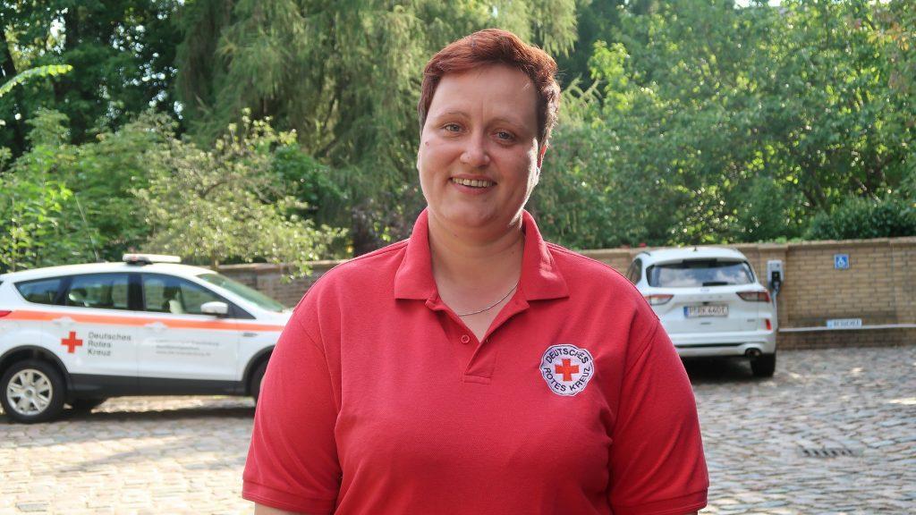 Erste-Hilfe-Ausbilderin Diana Rösler